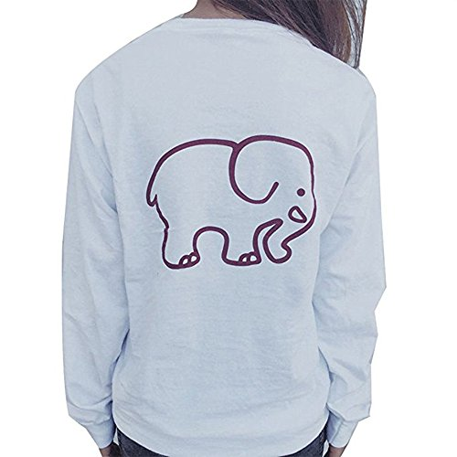 women-long-sleeve-crew-neck-cotton-shirt-elephant-print-pocket-top-tag-mus6-white
