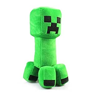 Gadgets-N-Gizmos Minecraft Creeper Plush Doll vert Coussin Oreiller