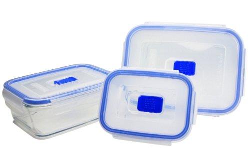 Luminarc 15703 - Set di contenitori per alimenti Pure Box Active, misura XL, 3 pz