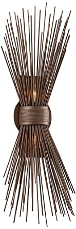 """Uni Collection 25 1/2"""" High Tide Pool Bronze Wall Sconce"""