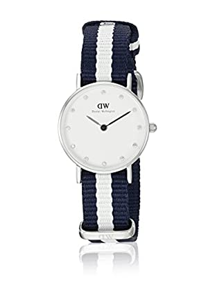 Daniel Wellington Reloj con movimiento cuarzo japonés Woman Classy Glasgow blanco/gris 26 mm