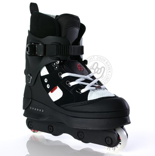 Anarchy Chaos 3 Aggressive Inline Skates - UK Size 12