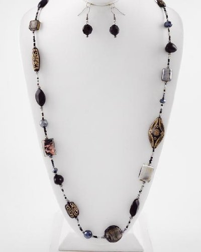 Strand Necklace & Earrings Set