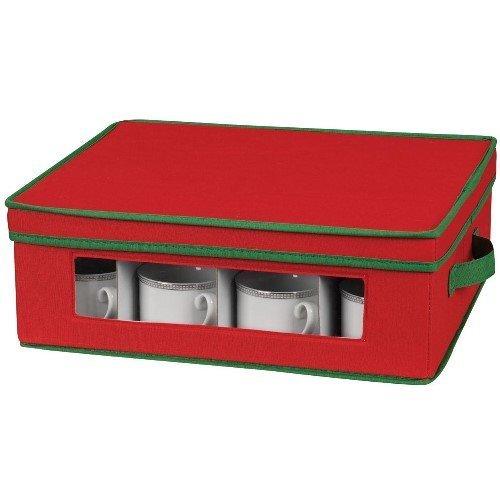 Household Essentials Holiday Dinnerware Storage