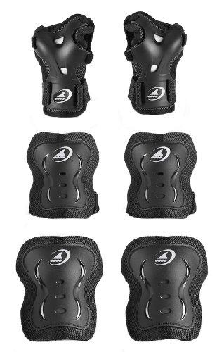Rollerblade Junior Bladegear XT Protective Gear (3-Pack)