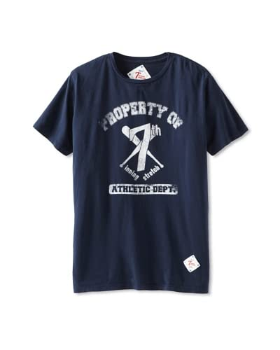 7th Inning Stretch Men's Property of Tee  [Navy]