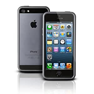 Photive Hybrid iPhone 5 Bumper Case - Designed for The New iPhone 5 - Black