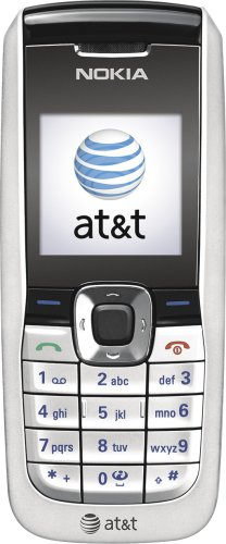 AT&T Nokia Prepaid Cell Phone - Silver (2610)