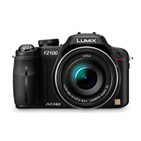 Panasonic Lumix DMC-FZ100 14.1 MP Digital Camera with 24x Optical Image Stabilized Zoom and 3.0-Inch LCD (Black)