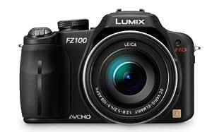Panasonic Lumix DMC-FZ100 14.1 MP Digital Camera with 24x Optical Image Stabilized Zoom and 3.0-Inch LCD - Black