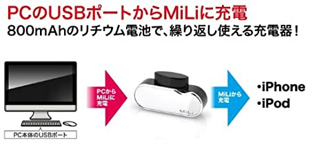 MiLi Power Spirit ホワイト[CDO/HI-A20-W]