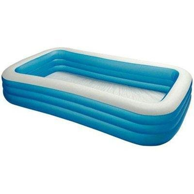 New Intex Swim Center 120inch 3 Rings Family Pool Stylish Mo