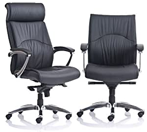 Friant Madison Executive Chair, Mid Back Black