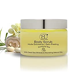 DEAL OF THE DAY - 180 Cosmetics Salt and Oil Body Scrub Soothing SPA, Nourishing and Exfoliating Dead Sea Salt - BEAUTY DEALS