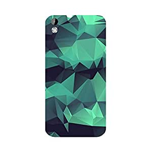 Skintice Designer Back Cover with direct 3D sublimation printing for HTC Desire 816