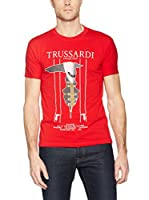 Trussardi Collection Camiseta Manga Corta (Rojo)