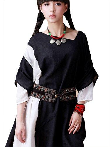 ベルト 帯 アクセサリー 中国 民族衣装 刺繍 デザイン 少数民族 ベトナム ボヘミアン 民族風