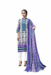 Style Amaze Women's Cambric Cotton Dress Material