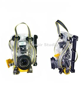 Pro Camera & Flash Underwater, Waterproof, Rain Sand Proof Marine Housing Case for Nikon D3000, D5000, D90, D40, D60, D80, D70, D40x, D50, D70s, D300s, D700, D300, DX, D200, D100, D3s, D3x, D3, D1, D2x, P7700, P7100, P7000, P6000, P5100