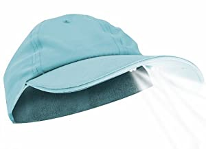 Pup PowerCap Ladies 100% Polyester Microfiber Sky blue LED Lighted Cap