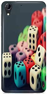 kSC Desginer Hard Back Case Cover For HTC Desire 728