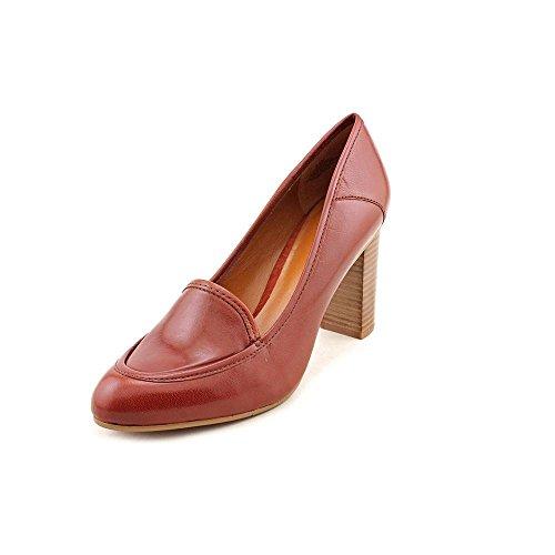 Nine West Women'S Zasha Pump,Cognac Leather,6 M Us
