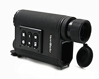 Night Vision Range Finder 6 x 32 Multifunction Infrared Hunting Outdoor IR Laser Rangefinder by Itechsun