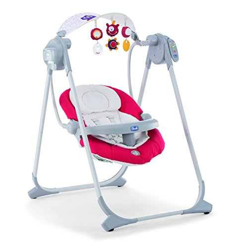 Chicco 07079110710000 Polly Swing Up Altalena, Rosso