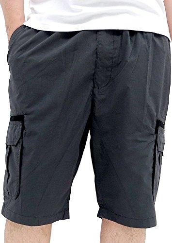 (コンバース) CONVERSE ショートパンツ メンズ ハーフパンツ カーゴ ショーツ ロゴ 3color L チャコール
