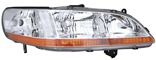 Vision Automotive HD10082B3R Honda Accord Sedan/Coupe Passenger Side Replacement Headlight Unit (1999 Honda Accord Coupe compare prices)