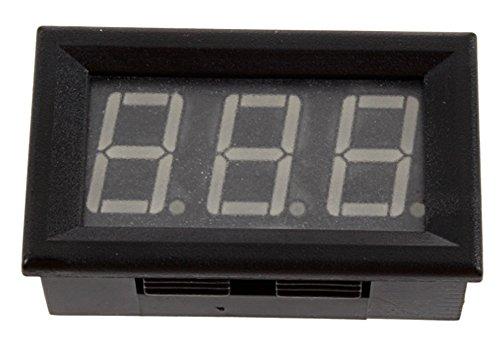 "Amaranteen - 1Pcs 0.56"" Blue Led Display Digital Ammeter Dc 0-10A 3 Digit"