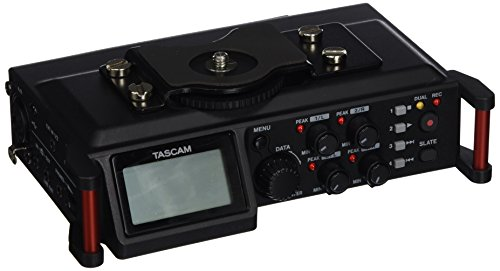 Tascam DR-70D 4 Channel Portable Field Recorder for DSLR Cam