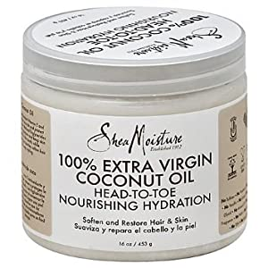 SheaMoisture 100% Extra Virgin Coconut Oil, 15 Ounce