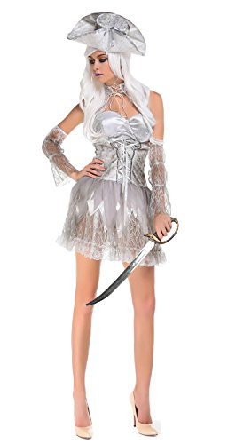 JustinCostume Women's Sexy Halloween Costumes Vampire Dark Angel Outfits