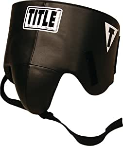 TITLE Boxing Hook-and-Loop Pro Style No-Foul Protector, Small