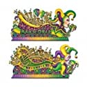 Mardi Gras Insta-Theme Float Props 65-67in. 2/Pkg