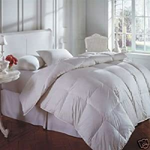 New All Seasons 15 Tog (10.5 + 4.5) KING Goose Feather & Down Duvet Quilt, 25% DOWN / 75% Feather By Rejuvopedic©
