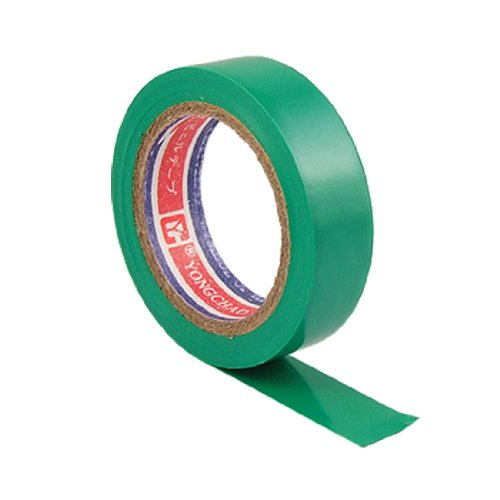 Amico Pvc Wire Adhesive Insulation Electrical Tape, 10M Length X 15Mm Width, Green