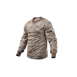 Rothco Desert Digital Camouflage Tactical Long Sleeve Shirt from Rothco