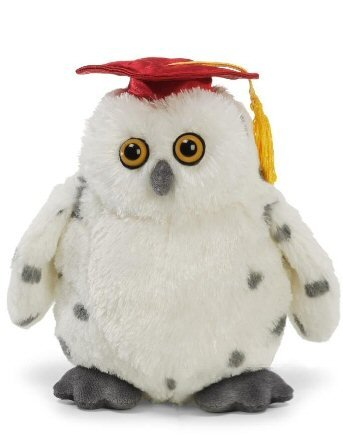 "Gradster - Graduation Plush Owl - 8"" (Cap Color May Vary)"