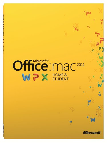 Office Mac Home and Student 2011 - Family Pack (1 User/3 Installs) [Download]