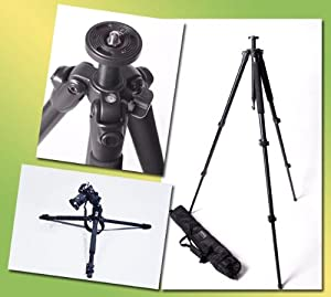 DMKFoto Professional Black Tripod Legs Only EI-717AT