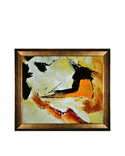 "Pol Ledent ""Abstract 698523"" Framed Canvas Print"