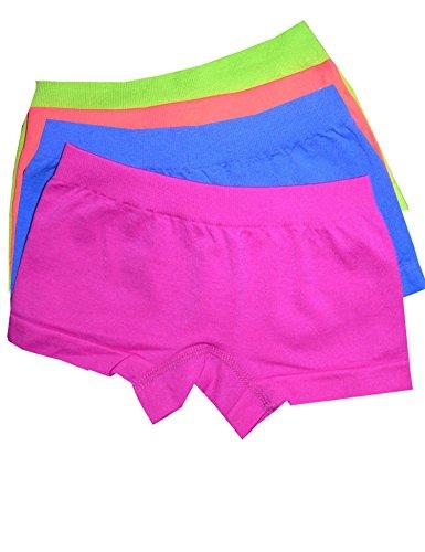 4er Pack bequeme Seamless Pants für modebewusste junge Damen aus der aktuellen LisaModa-Kollektion Textilzusammensetzung: 93% Polyamid 7% Elasthan Super weiche Mikrofasern mit Elasthan-Anteil sorgen für perfekt anliegende Passform und hautsymph...