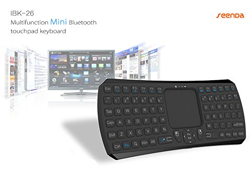 Bluetooth キーボード ワイヤレス ミニ キーボード タッチパッド搭載 Android 3.0 + Tablet / Mac OS / Windows OS Google Nexus 7 / iPhone 6S 6/ iPad air/ iPad mini/Google Android TV / Samsung Galaxy S2 S3 / PC