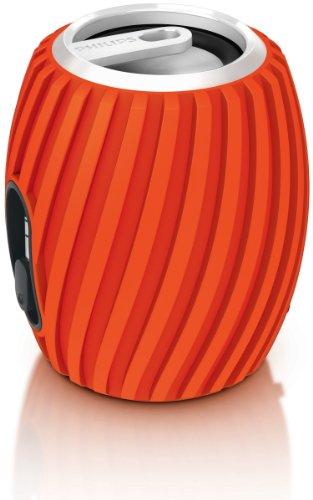 Philips Sba3011/37 Soundshooter Portable Speaker (Orange)