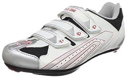 Pearl iZUMi Men\'s Select Road Road Cycling Shoe,White/Silver,39.5 M EU