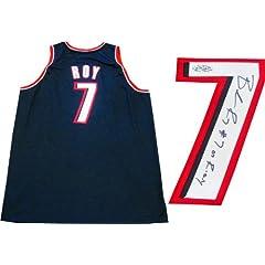 Brandon Roy 07 ROY Autographed Portland Trail Blazers Authentic Black Jersey