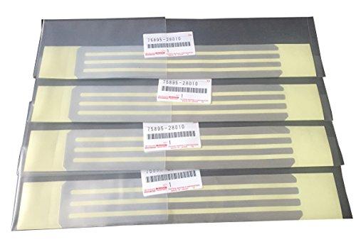 トヨタ純正 テープ モールディング 4枚セット 75895-28010×4