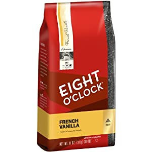 Eight O'Clock French Vanilla Ground Coffee, 11-Ounce Bags (Pack of 6) from Eight O Clock Coffee Company